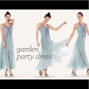 Cabi Garden Party Maxi Dress Size 12 Style#: 5104